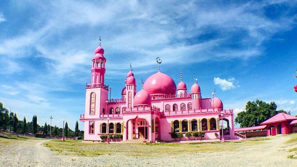 Foto: Masjid Pink yang Cantik di Filipina