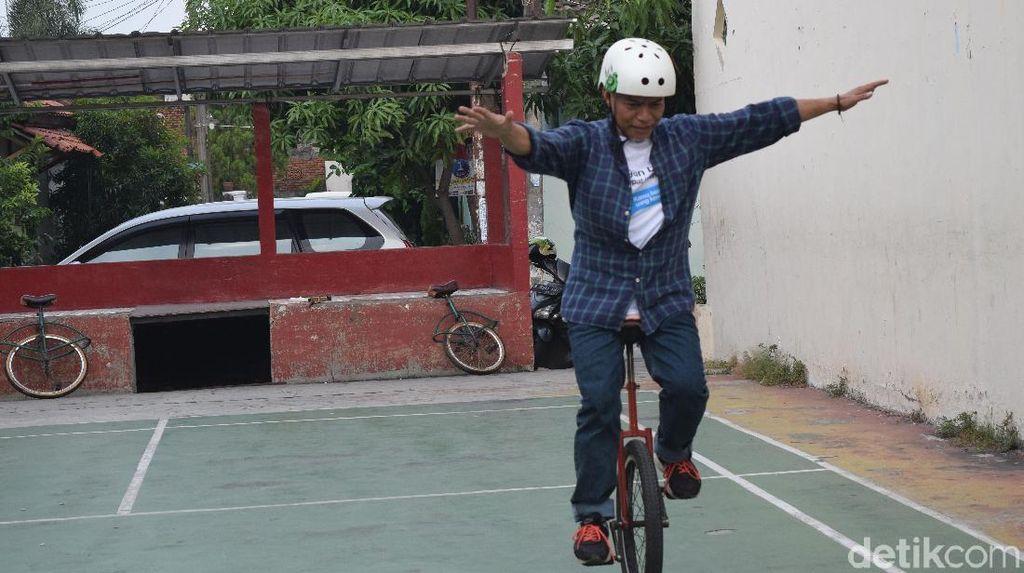 Bukan Cuma untuk Sirkus, Sepeda Roda Satu Juga untuk Olahraga
