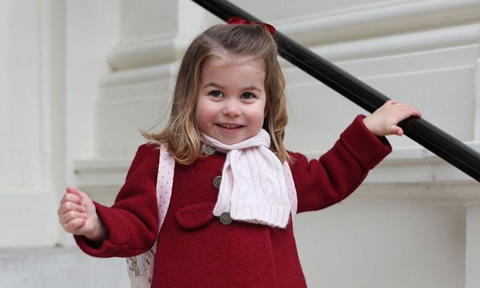Putri Charlotte. Foto: Istana Kensington