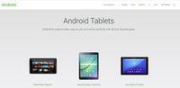 Google Ungkap Hilangnya Tablet di Situs Android