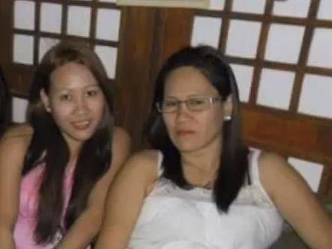 Wilma dan sang adik Neriza Tamayo