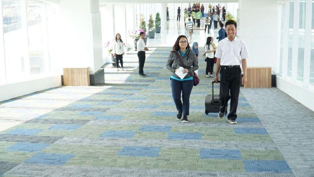 AP I Lakukan Simulasi Operasi Terminal Baru Bandara Semarang