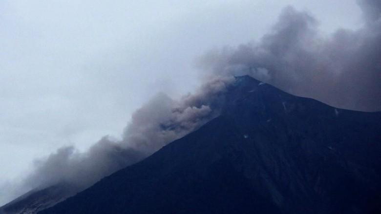 Gunung Fuego Kembali Erupsi, Korban Tewas Bertambah Jadi 75 Orang