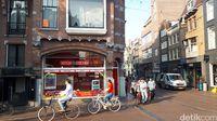 Turis yang memadati Amsterdam (Afif Farhan/detikTravel)