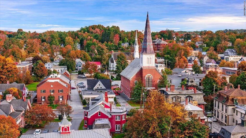 Pindah ke Vermont di Amerika dan Dapat Uang Rp 138 juta, Mau?