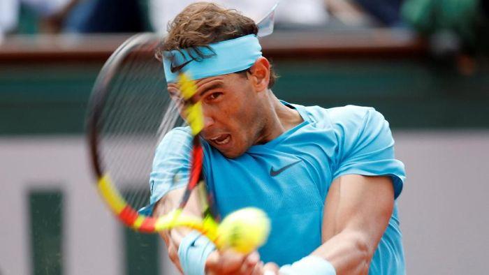 Rafael Nadal lolos ke perempatfinal Prancis Terbuka (Foto: Charles Platiau/Reuters)