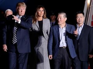Melania Tak Akan Dampingi Trump Saat Bertemu Kim Jong-Un di Singapura