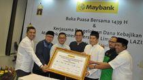 Salurkan Dana Kebajikan, Maybank Indonesia Gandeng 5 Lembaga Ziswaf