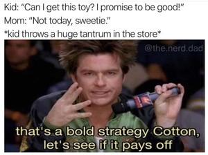 Meme Parenting tentang Mainan Anak Ini Banyak Benarnya Deh, Bun