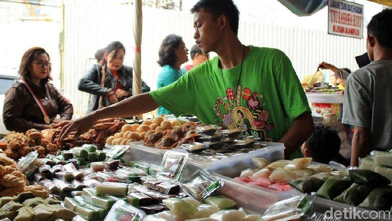 Ilustrasi Pasar Benhil di Jakarta (Randy/detikcom)