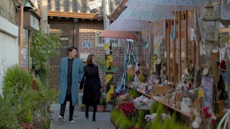 Foto: Lokasi syuting drama Black Knight, Ikseon-dong Hanok Village (dok KTO)