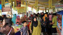 Foto: Ngabuburit di Pasar Benhil