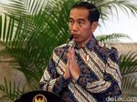 Jokowi Pimpin Malam Renungan Suci di TMP Kalibata