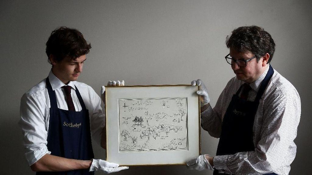 Rekor Dunia! Sketsa Winnie the Pooh dari Tahun 1926 Terjual Rp 8,2 M