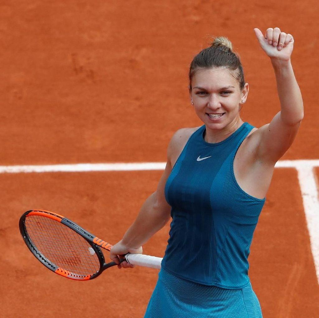 Halep Maju ke Perempatfinal, Wozniacki Tersingkir