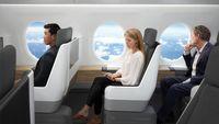 Kabin pesawat supersonic Boom (CNN Travel)