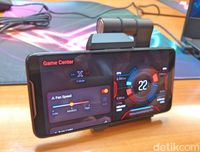 Ponsel Gaming Gahar Asus ROG Resmi Dirilis