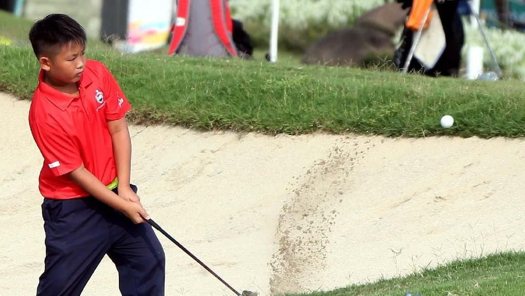 141 Pegolf Ikuti Himbara World Junior Golf Champioship 2018