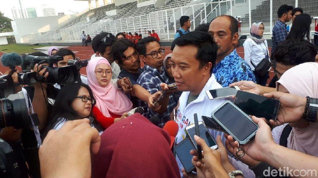 Ngabuburit di Pelatnas, Menpora Imam Semangati Atlet dan Promosikan Asian Games