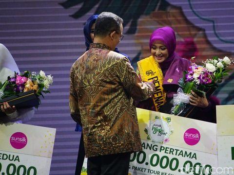 Fadila Yahya, Juara Pertama Sunsilk Hijab Hunt 2018.