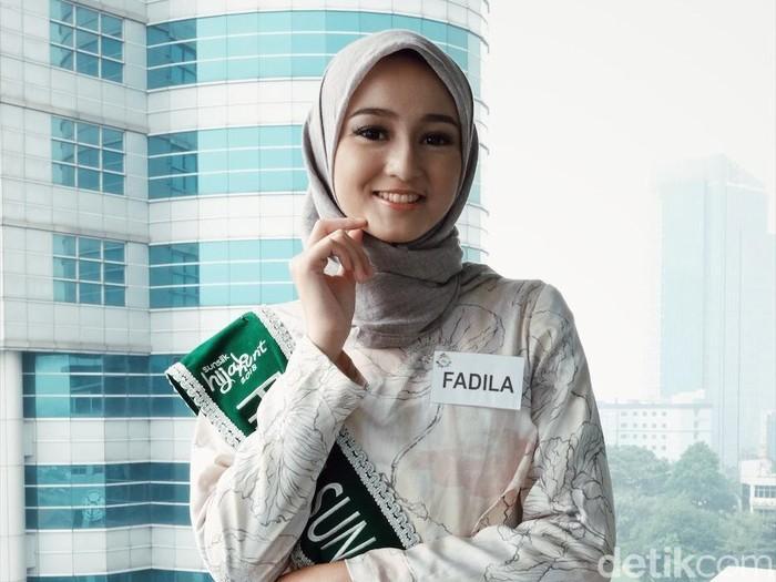 Juara Sunsilk Hijab Hunt 2018 Fadila Yahya. Foto: Silmia Putri/Wolipop