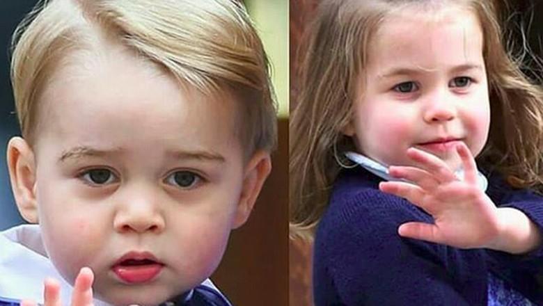 Wah! Pangeran George dan Putri Charlotte Ikut Demam Piala Dunia/ Foto: instagram