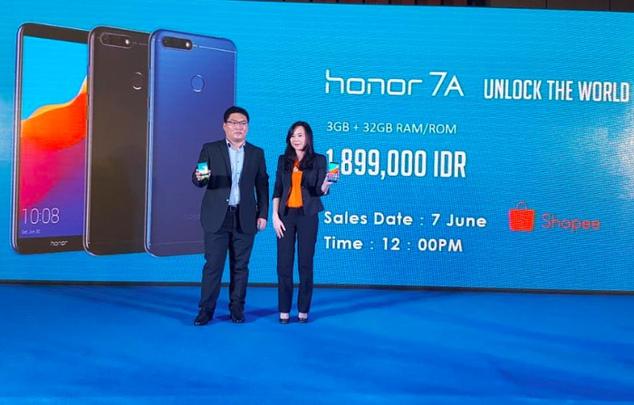 Honor 7A meluncur di Jakarta (Muhamad Imron Rosyadi/detINET)