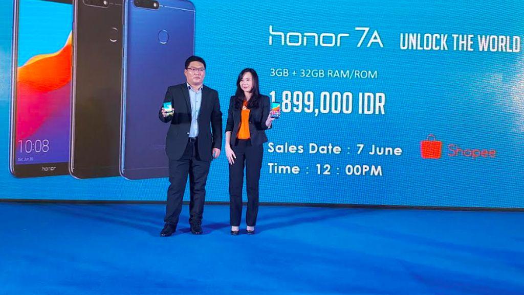 Honor 7A Meluncur di Jakarta, Fitur Melimpah Cuma Rp 1,9 Juta