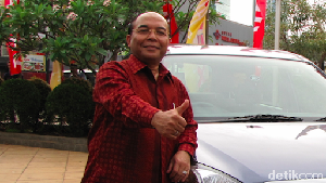 Sudirman MR Pensiun dari Daihatsu