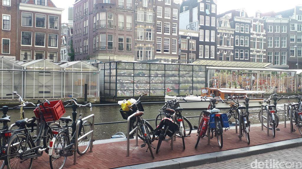 Foto-foto Sepeda di Amsterdam