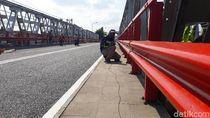 Pasca Perbaikan, Jembatan Widang Jalani Uji Getaran