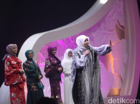 Penampilan finalis Sunsilk Hijab Hunt 2018 di malam grand final.