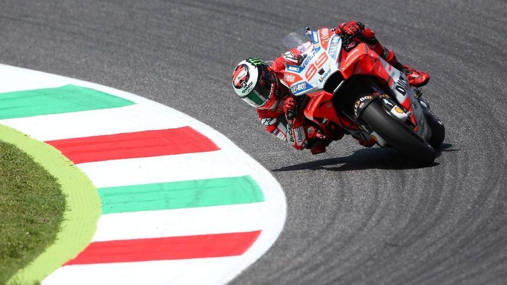 Lorenzo Pede Tatap MotoGP Catalunya