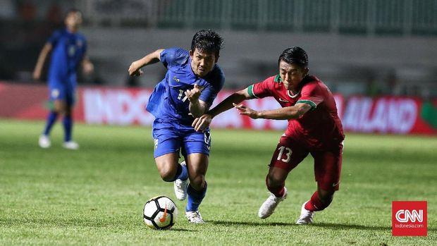 Timnas Indonesia dan Thailand menjadi unggulan di Grup B.