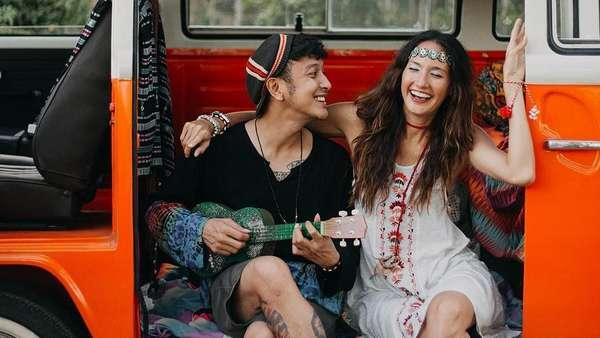 Nadine Chandra-Dimas Anggara Foto Prewedding atau Postwedding?