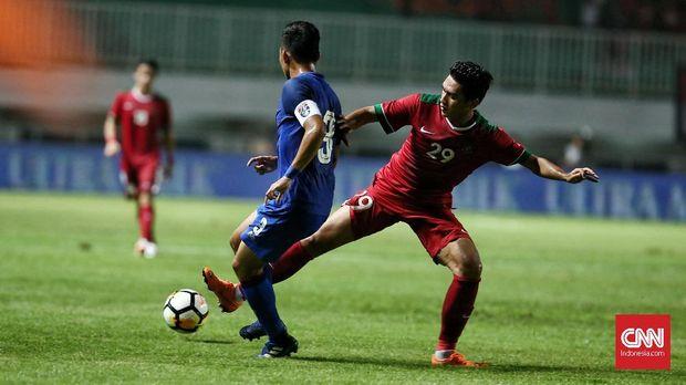 Septian David jadi salah satu andalan Timnas Indonesia di Piala AFF 2018. (