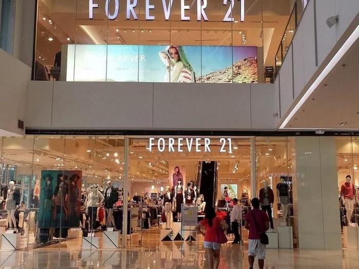 Salah satu toko Forever 21. Foto: istimewa/Live Kindly