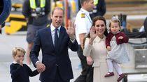 Pangeran George dan Putri Charlotte Dilarang Makan Bersama Orangtuanya
