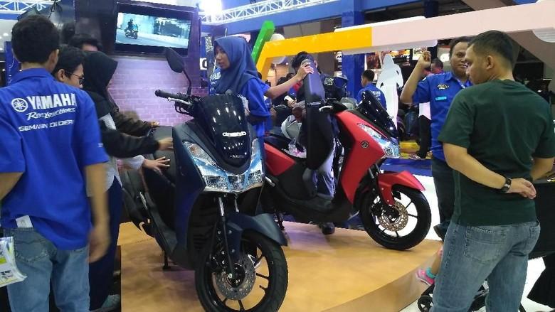 Booth Yamaha di Jakarta Fair Kemayoran 2018 (Foto: dok. Yamaha)