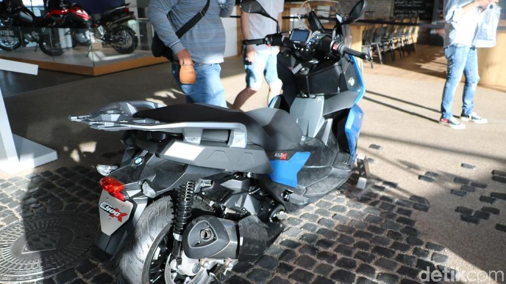 Skuter Bongsor BMW Penantang Xmax Diboyong ke Indonesia