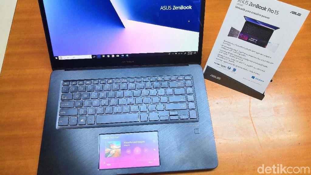 Menjajal Touchpad Layar Sentuh Asus ZenBook Pro