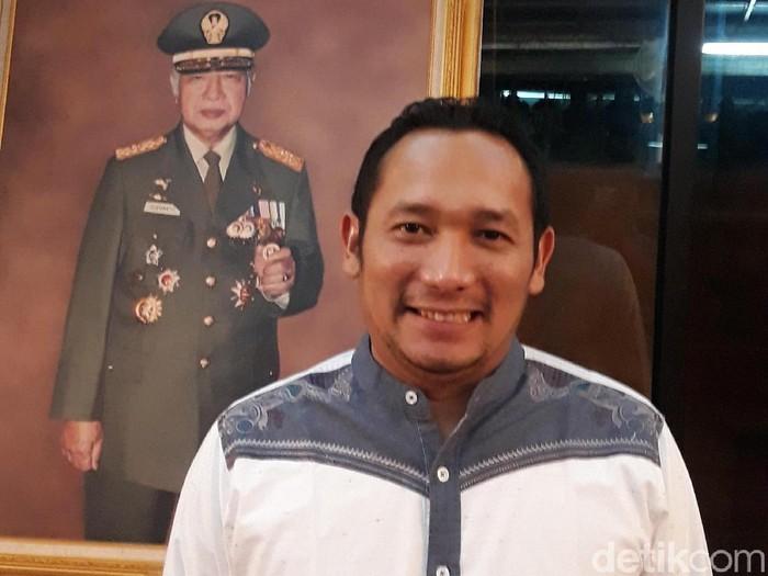 Ketua Dewan Pimpinan Wilayah Partai Berkarya DKI Jakarta, M Ali Reza (Erwin/detikcom)