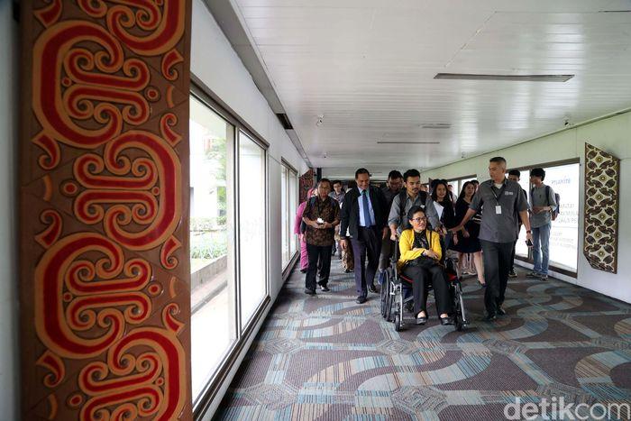 Kegiatan digelar untuk untuk menyambut Asian Paralympic atau Asian Para Games 2018 mendatang.