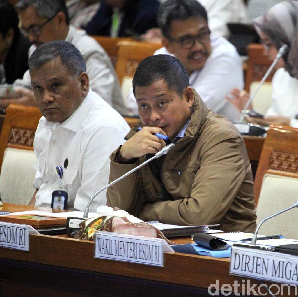 Jonan Rapat di DPR Bahas Subsidi BBM dan Elpiji 2018
