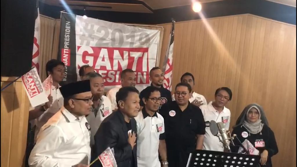 Klip #2019GantiPresiden Dirilis, Begini Gaya Fadli hingga Amien