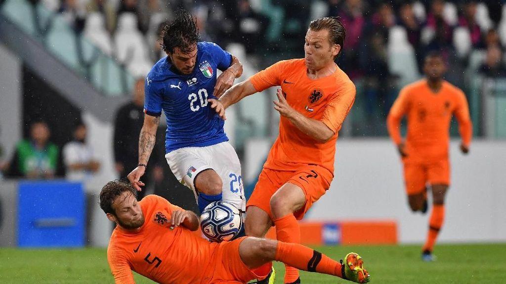 Italia Vs Belanda Berakhir 1-1