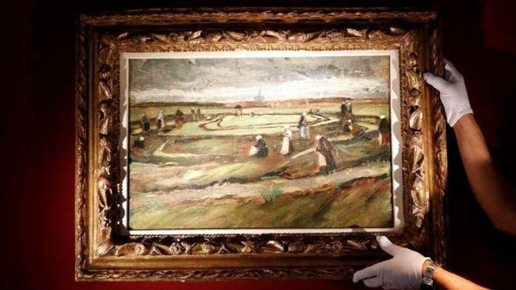 Lukisan Langka Pemandangan Desa Karya Van Gogh Terjual Rp 113 M