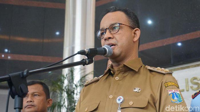 Foto: Gubernur DKI Anies Baswedan (Kanavino/detikcom)