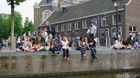 Kanal di Amsterdam terancam turis nakal (Afif Farhan/detikTravel)