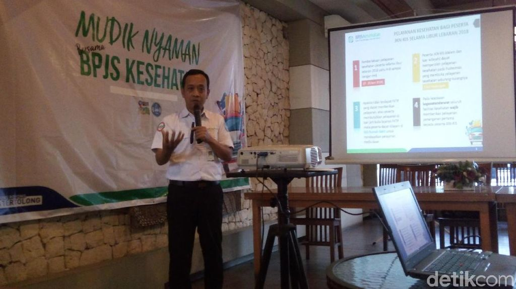 Mudik Lebaran di Semarang, Peserta JKN-KIS Tetap Dilayani